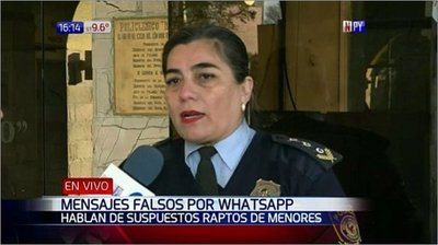 Desmienten raptos advertidos por WhatsApp
