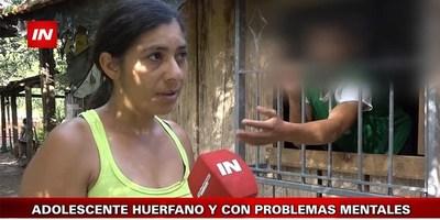 JOVEN CON DISCAPACIDAD CASI MUERE QUEMADO