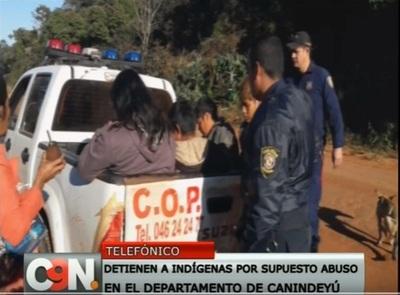 Indígenas fueron detenidos por casos de abuso sexual