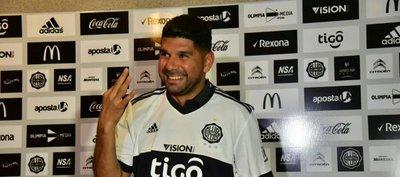 Ortigoza, feliz por llegar a Olimpia: Era el club indicado para jugar