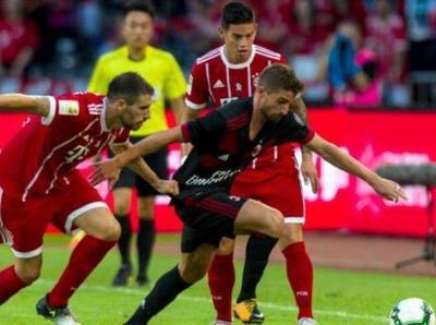 Paliza del Milan ante Bayern Munich