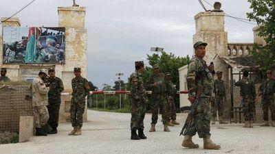 Dieciséis policías afganos murieron en ataque aéreo