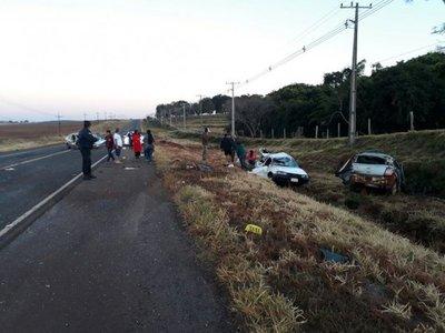 Choque múltiple deja un niño fallecido en Canindeyú