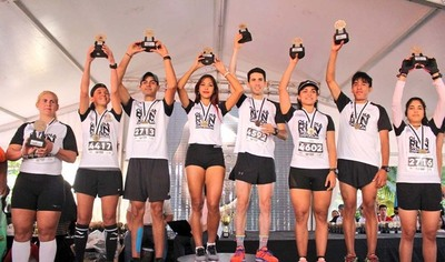 """Cerca de  5.000 fanáticos corrieron el """"Olimpia Run 115 Aniversario"""""""