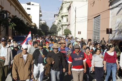 Protesta ya estaría costando 440 millones de guaraníes