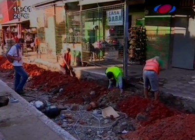 Mercado 4: Comerciantes cuestionan lentitud de obras