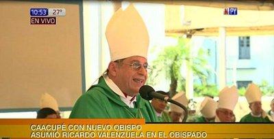 Asume nuevo obispo de Caacupé