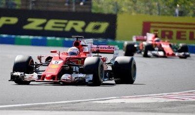 Vettel triunfa en Hungría y retiene el liderato en la F1