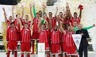 Bayern gana la Supercopa alemana en los penales