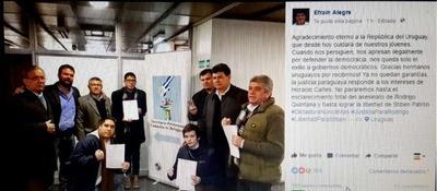 Liberales, entre Uruguay y la marcha campesina