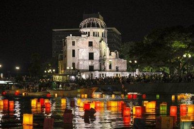 Hiroshima recuerda los 72 años de la bomba atómica