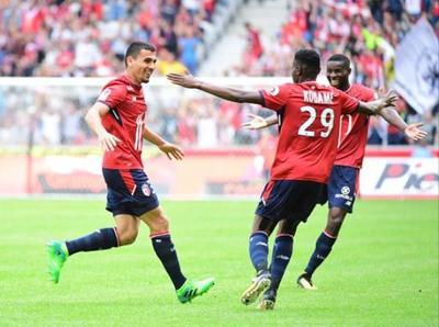 Junior Alonso marca para el Lille