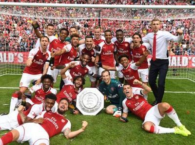 Arsenal campeón de Community Shield