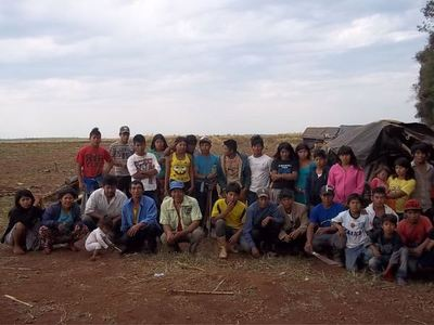 TRASLADAN A 50 FAMILIAS INDÍGENAS DESDE SANTA RITA A UN VERTEDERO EN NARANJITO.