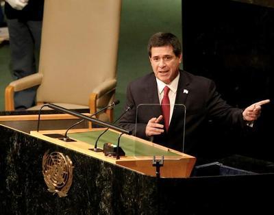 Cartes dará su último discurso como presidente ante Naciones Unidas
