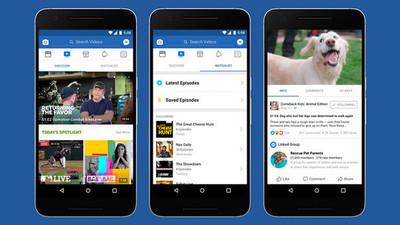 Facebook lanza nueva plataforma para ver series y programas