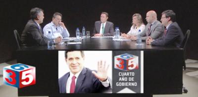 Una rápida visión de los cuatro años de gestión del presidente Horacio Cartes