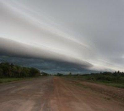 Emiten aviso de tormentas para tres departamentos
