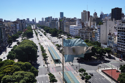 Disminuye diferencial de Argentina sobre bonos del Tesoro EE.UU.