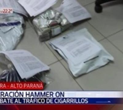 Tráfico de cigarrillos: Brasil busca dar con proveedores paraguayos