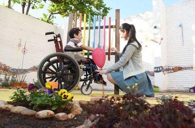 Habilitan el primer parque inclusivo y multisensorial