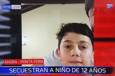 Secuestran a un niño en la frontera