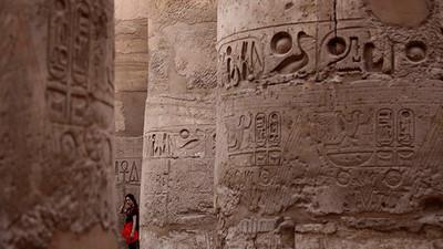 Descubren jeroglíficos de gran tamaño realizados hace 5.200 años