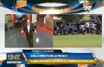 Guaraní y Olimpia se medirán este domingo