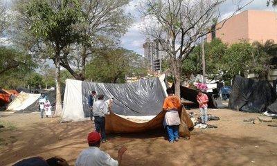 Campesinos dejarán la plaza