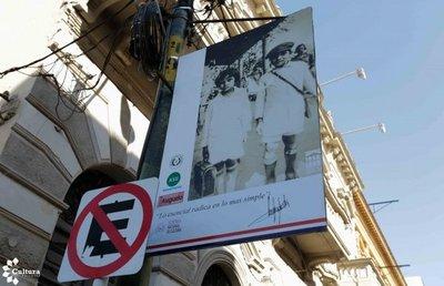 La obra de Roa Bastos sale a las calles de Asunción