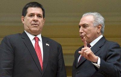 Cartes viajará el lunes a Brasil