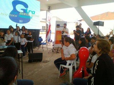 Berta Rojas cierra gira por colegios