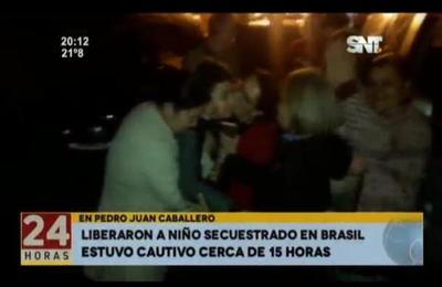 Liberaron a niño secuestrado en Brasil
