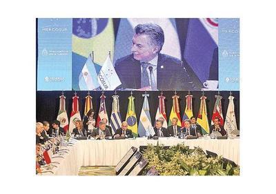 Mercosur condena usurpación de Asamblea Constituyente
