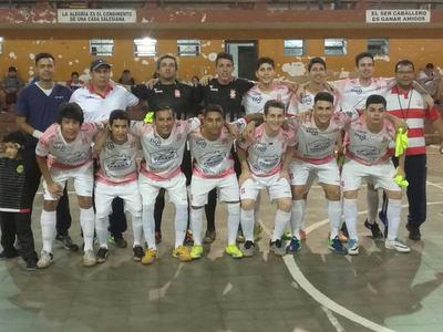 3 de Febrero golpea fuerte en Futsal de Primera