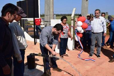Indert inauguró nuevos sistemas de agua en San Pedro