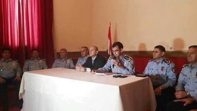 Alto mando policial dispone movida de jefes y directores