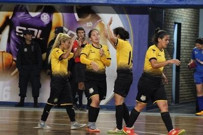 Deportivo Recoleta goleó a Colonial en primera final de Futsal Femenino