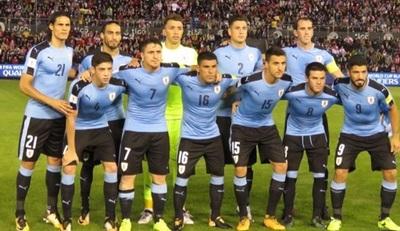 El festejo al desnudo de los uruguayos