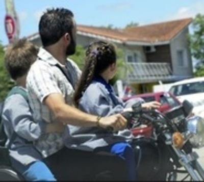 Más de 100 niños sufren accidentes en motocicletas al mes