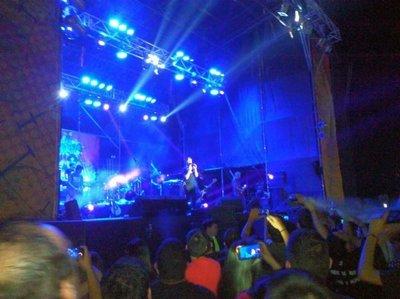 La Beriso se presentó ante el público paraguayo