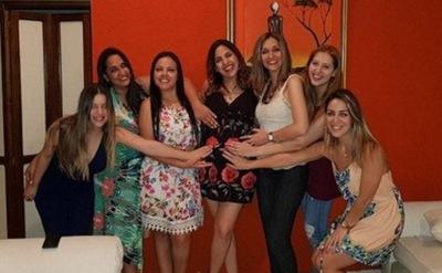 Las Ex Bailarinas De Planeta Niños Festejaron El Baby Shower De Patilu