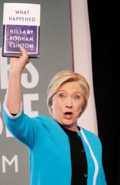 Con yoga, respiración y chardonnay Hillary sobrellevó derrota electoral