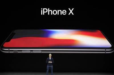 Apple presenta el iPhone X con pantalla de borde a borde