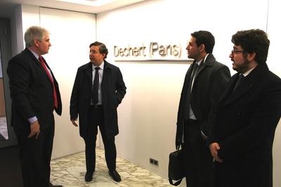 Petropar acude en París a la audiencia arbitral
