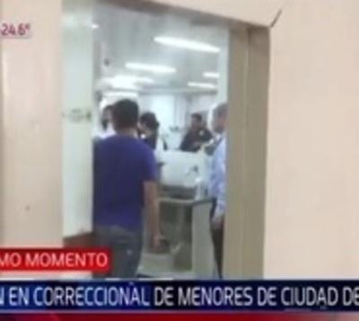 Motín deja unos 15 heridos en correccional de Ciudad del Este
