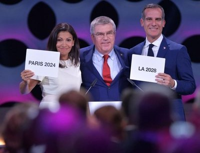 ¡París 2024 y LA 2028!