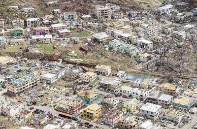 San Martin tiene hambre y sed tras el embate de Irma