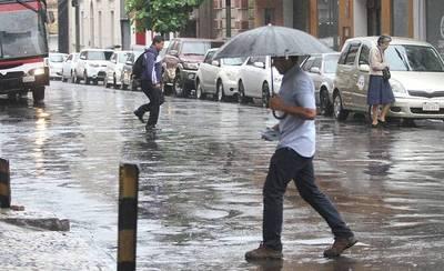 Ocho departamentos bajo alerta por tormentas