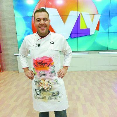"""El chef español que da sabor en """"Vive la Vida"""""""